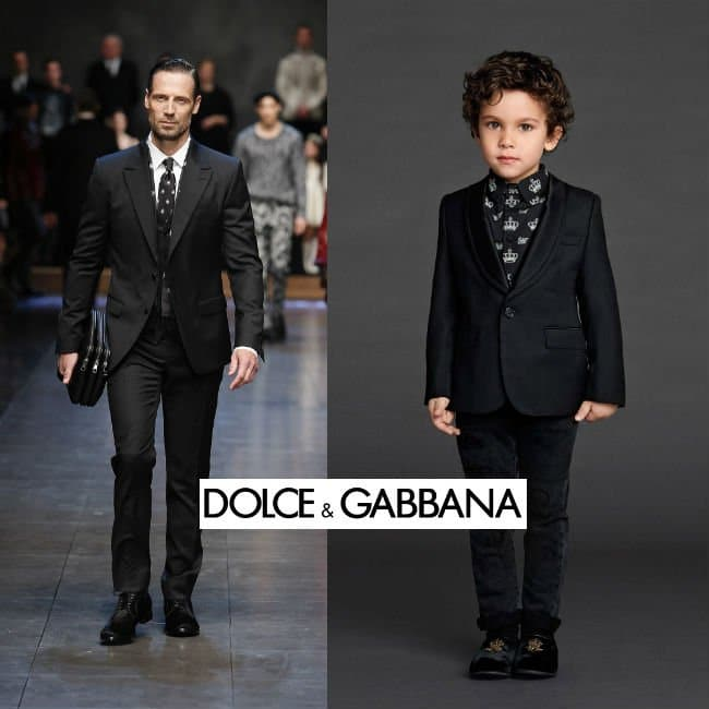 Dolce and Gabbana Boys Mini Me Suit