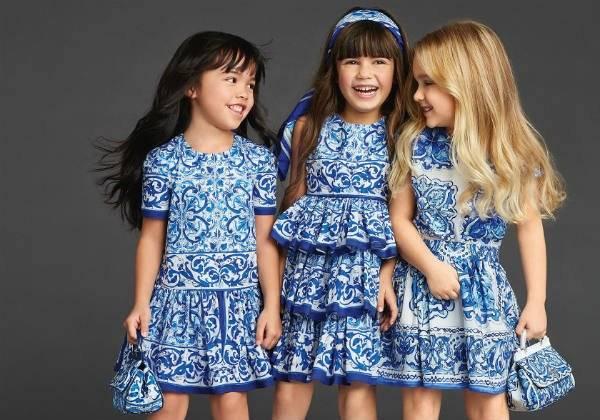 dolce-and-gabbana-girls-Majolica-Brocade-Dresses