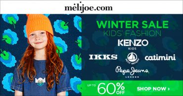 Melijoe Winter Sale on Designer Kids Fashion