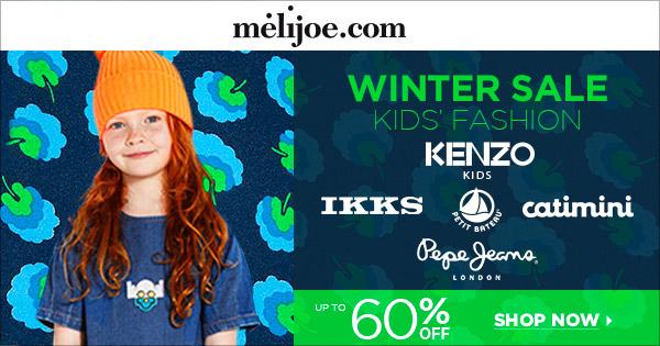 Melijoe Winter Sale on Designer Kids Fashion