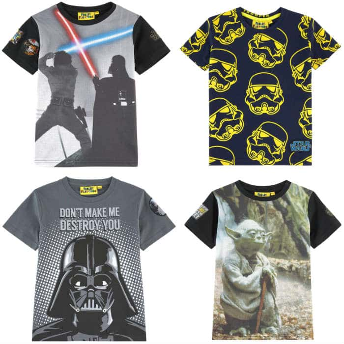 FABRIC FLAVOURS Star Wars T-shirts