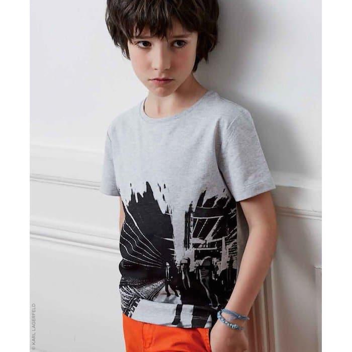 KARL LAGERFELD KIDS Karl Mini Me T-shirt