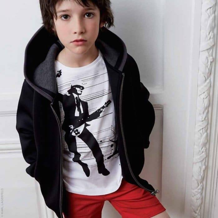 KARL LAGERFELD KIDS Karl rocks T-shirt