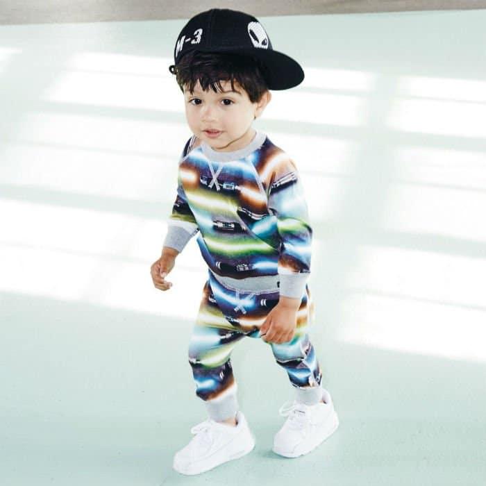MOLO Boys Grey Light Sword 'Sammy' Outfit
