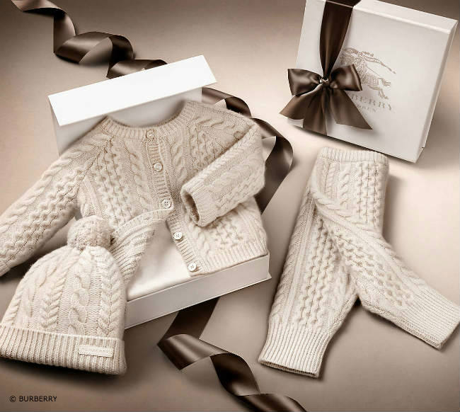 Burberry Baby Cashmere Gift Box