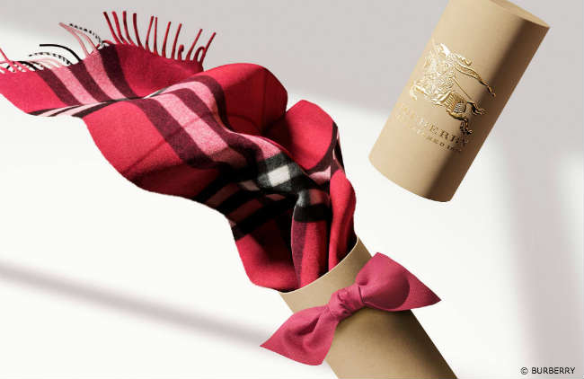 Burberry Checked Scarf Gift