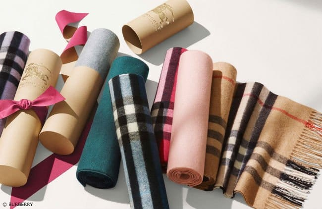 Choose from a Wide Assortment of Burberry Checked Scarfs
