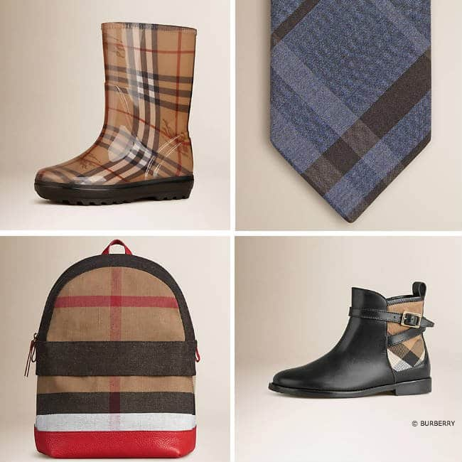 Burberry Kids Accessories FW 15-16
