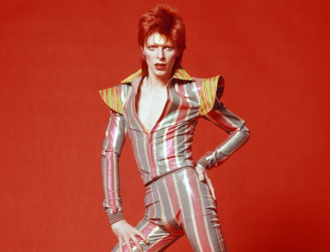 David Bowie's Unique Fashion