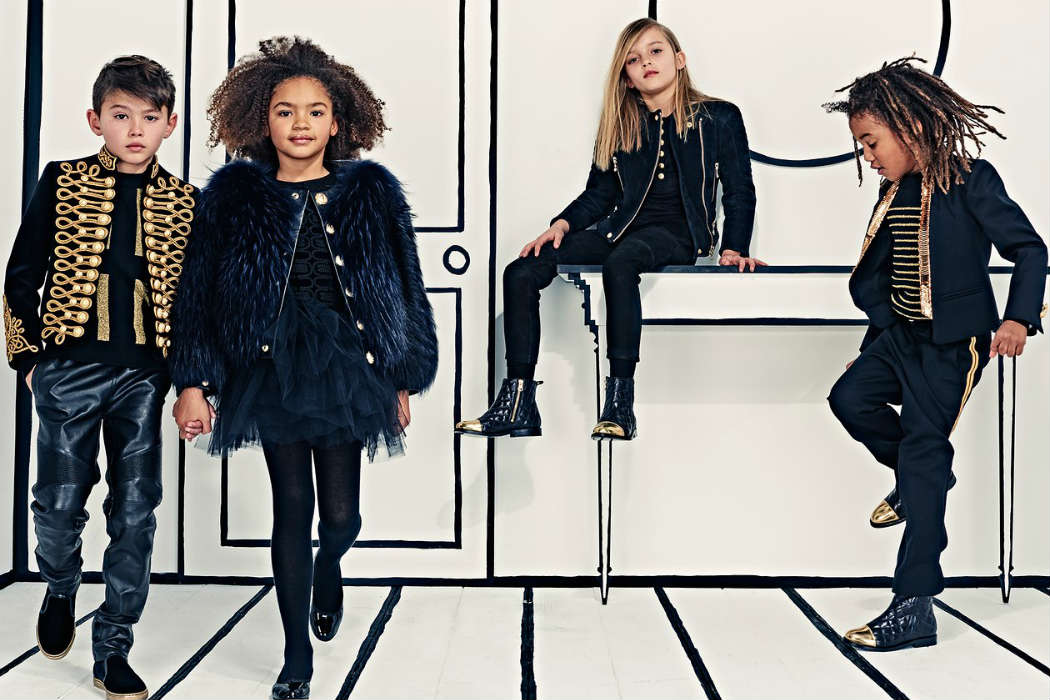 Balmain Kids Collection Launch