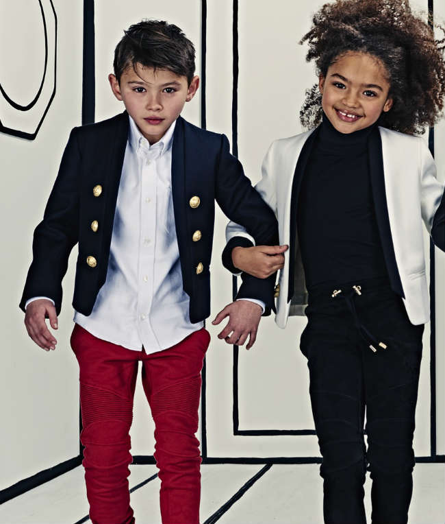Balmain Kids Collection Launch