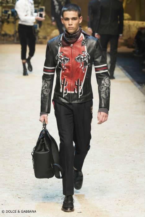 Dolce Gabbana Mens FW16 Rodeo Jacket