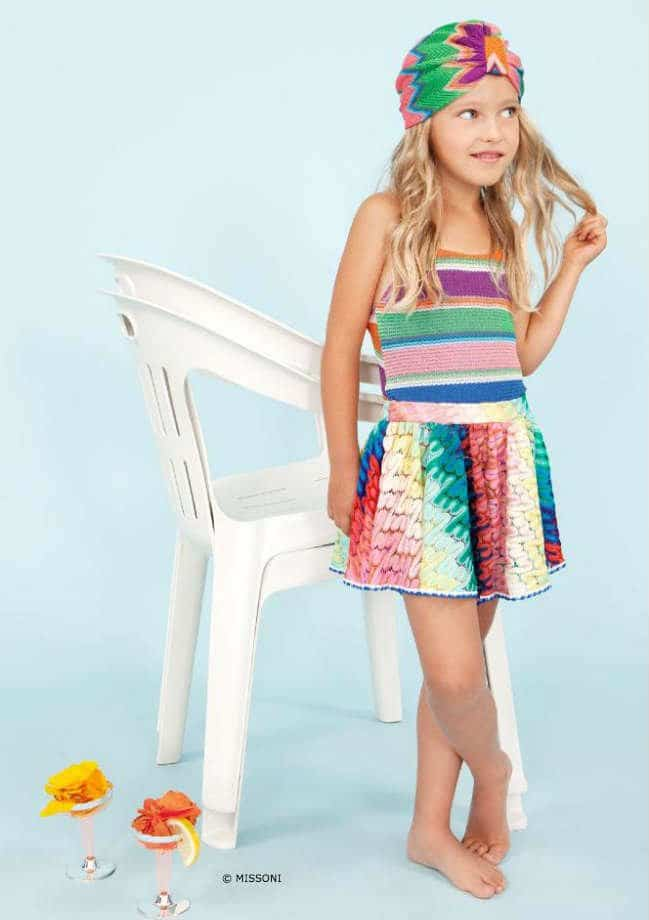 Missoni Girls Multi-Color Dress