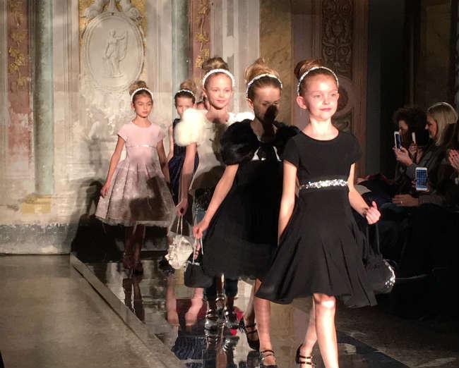 Monnalisa Girls Fall Winter 2016 Dress Collection