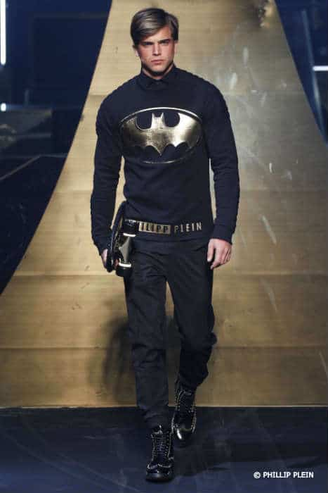 Philipp Plein Mens FW16 Batman Shirt