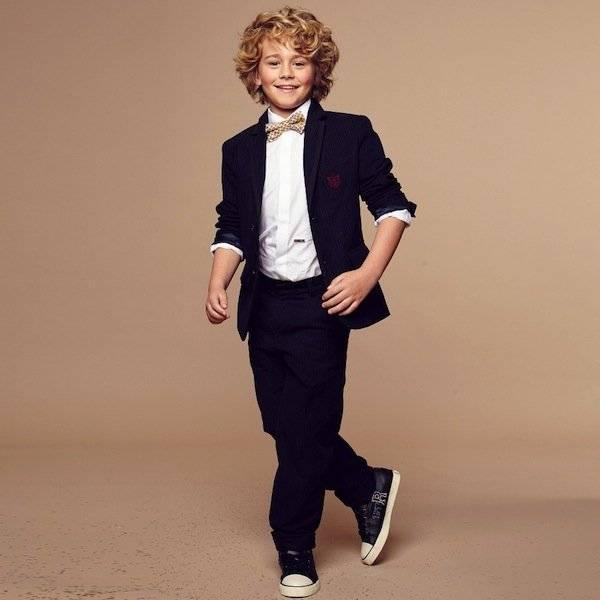 Little Marc Jacobs Navy Blue Suit