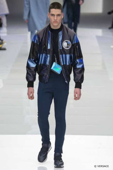 Versace Mens FW16 Space JacketVersace Mens FW16 Space Jacket