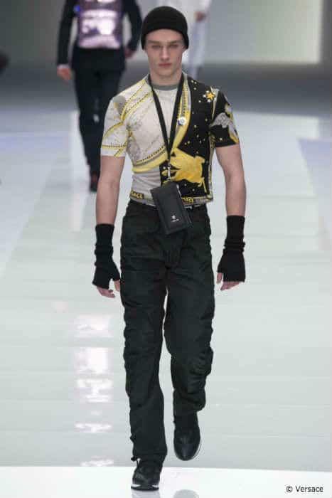 Versace Mens FW16 Logo Shirt