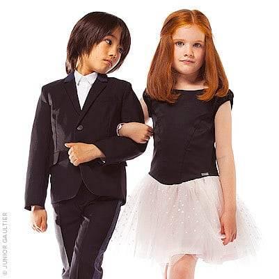 Junior Gaultier Boys Wollen Suit