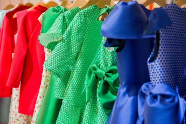 San Andres Bimbi Designer Mini Me Girls Dresses