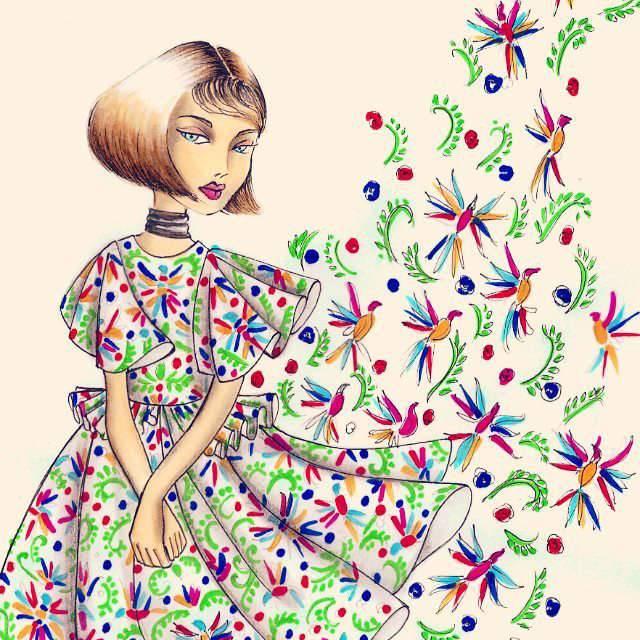 San Andres Bimbi Girls Dresses