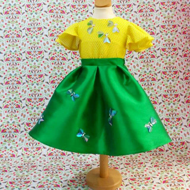 San Andres Milano Mini Me Girls Dresses