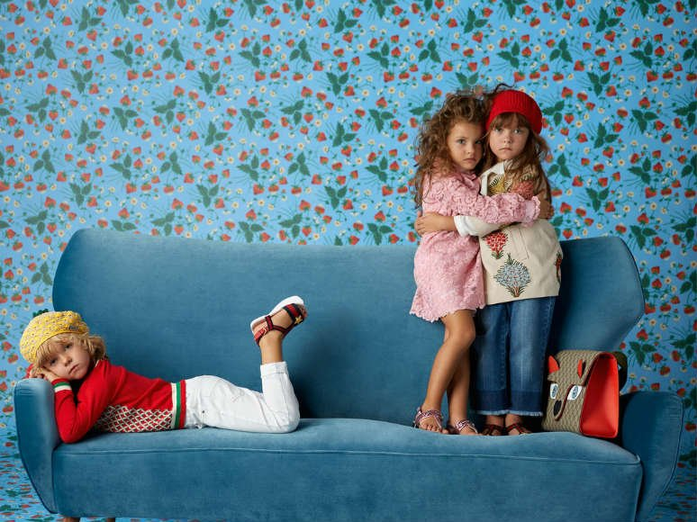 GUCCI Childrens Cruise Collection 2016