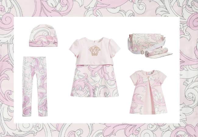 Young Versace Pink Baroque Trend