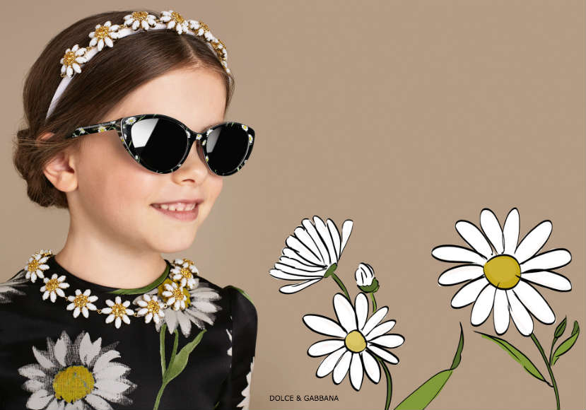 Dolce & Gabbana Girls Daisy Dress Spring Summer 2016