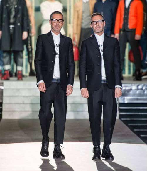 dsquared2 mens fw14 fashion show dean dan caten
