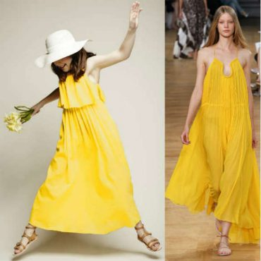 CHLOE-Girls-Minis-Me-Yellow-Cotton-Layered-Maxi-Dress