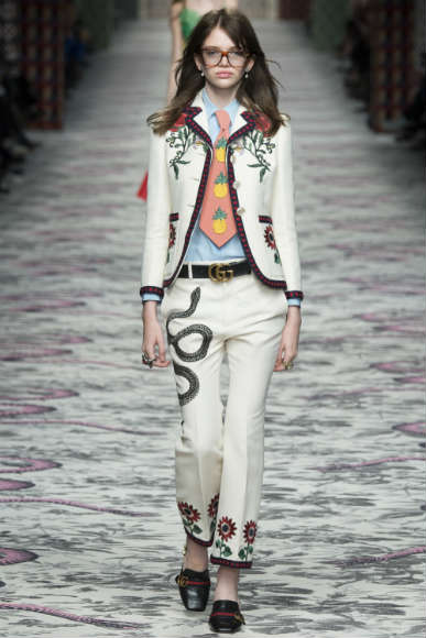 GUCCI GIRLS PINEAPPLE TREND