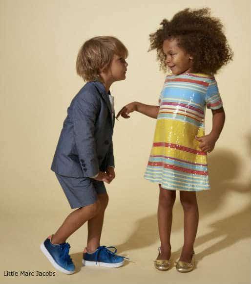 little marc jacobs girls sequin dress boys suit