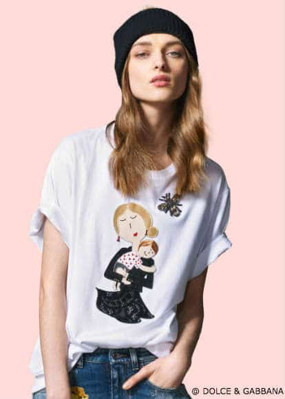 Dolce Gabbana DG Family Womens FW16