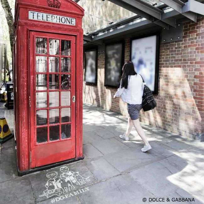 Dolce Gabbana DGFamily Graffiti London