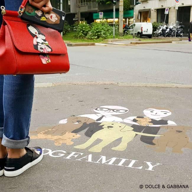 Dolce Gabbana DGFamily Graffiti Milan