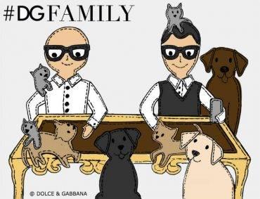 Dolce Gabbana DGFamily Junior FW1617