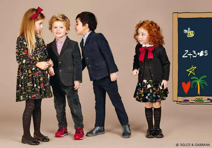 Dolce Gabbana Junior Back To School 2016