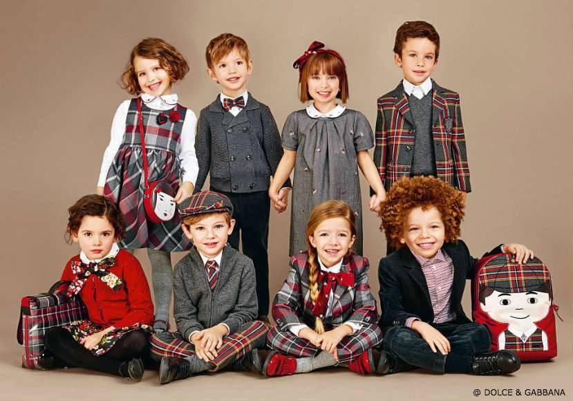 Dolce Gabbana Kids Back to School 2016
