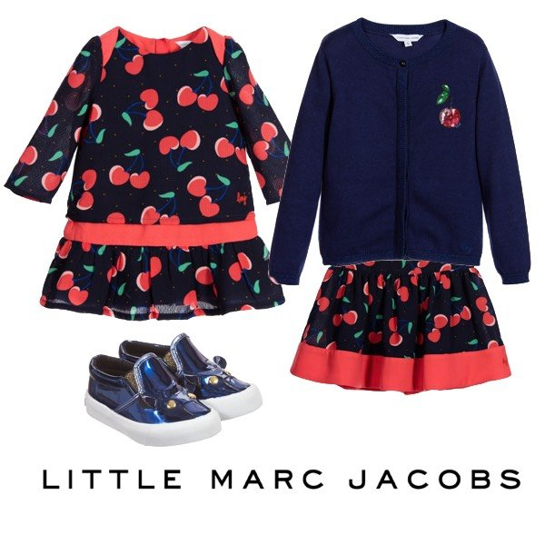 Little Marc Jacobs Baby Girl Cherry Look FW16