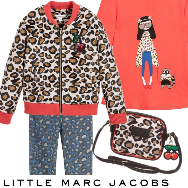 Little Marc Jacobs Leopard and Cherry Look
