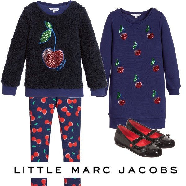 Little Marc Jacobs Sequin Cherry Trend Fall Winter 2016