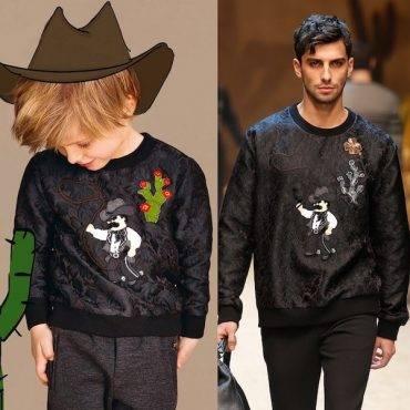 Dolce & Gabbana Boys Sicilian Western Daddy & Me Outfit