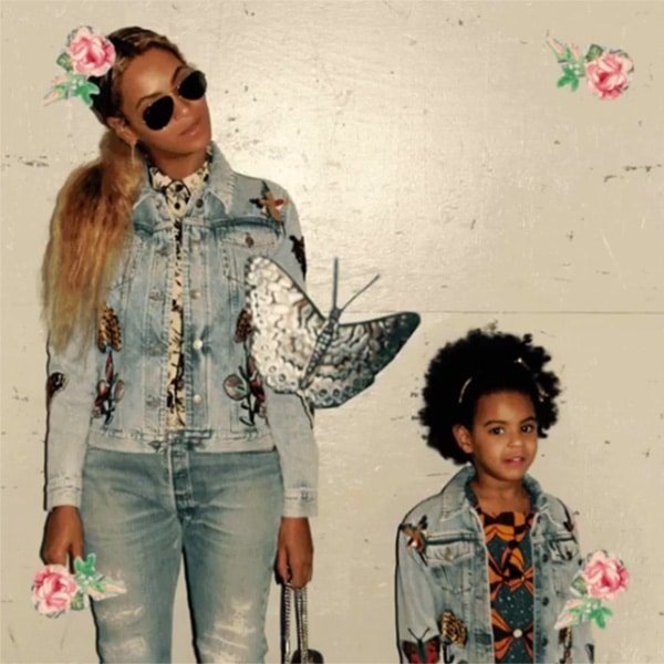 Beyonce Blue Ivy Mommy and Me Custom Gucci Jackets
