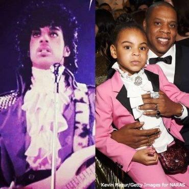 Blue Ivy Mini Me Prince Purple Rain Gucci Suit