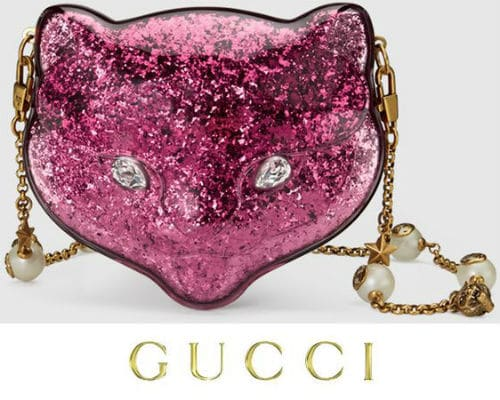 Gucci Pink Cat Purse - Blue Ivy Grammy Awards
