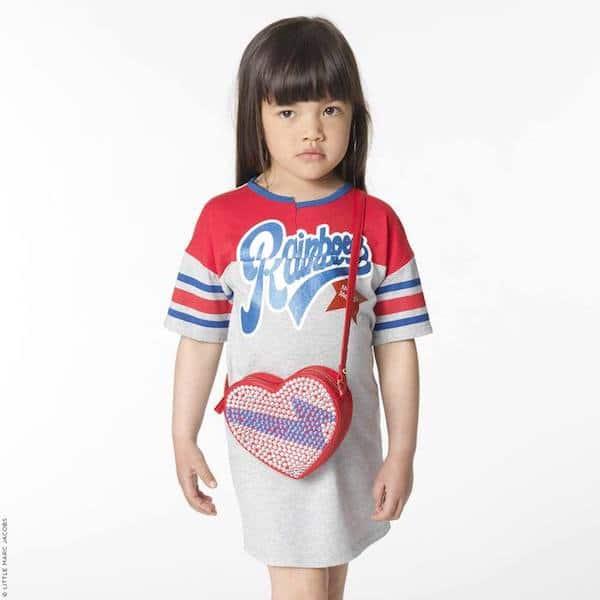 Little Marc Jacobs Girls Heart Purse SS17