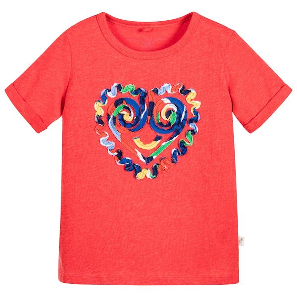Stella McCartney kids Island Festival Lolly T-shirt