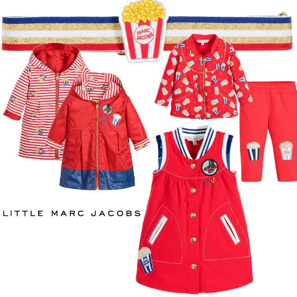 Little Marc Jacobs Baby Girl Popcorn Look Spring Summer 2016