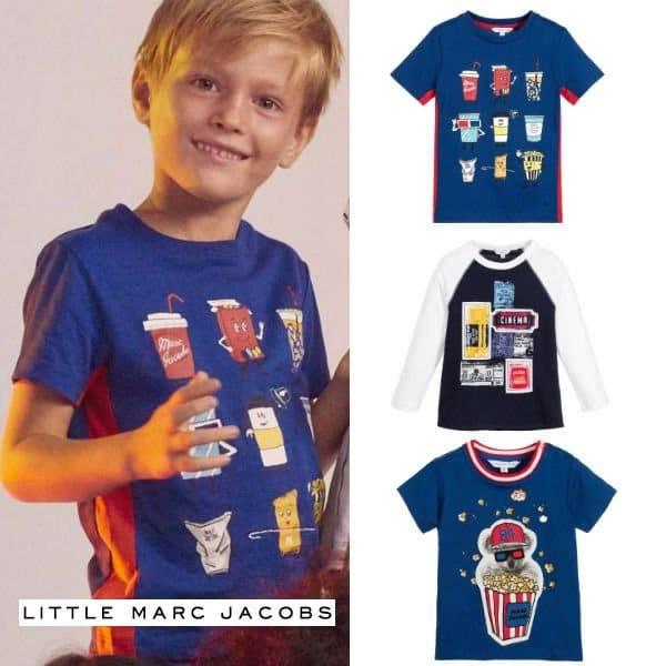 Little Marc Jacobs Boys Cinema Shirt Spring Summer 2017
